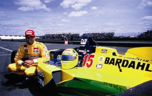 fittipaldi met auto 1996-