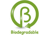 logo biodegradable