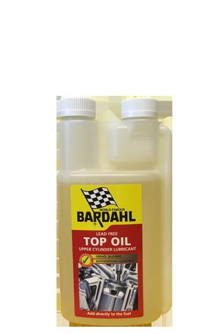 Top olie extra smering voor droge brandstoffen