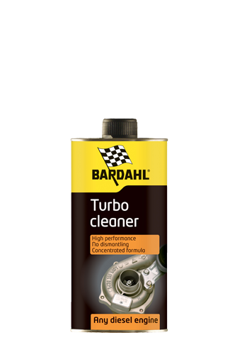 Turbo Cleaner - cleans the turbo without dismantling - Bardahl Bardahl