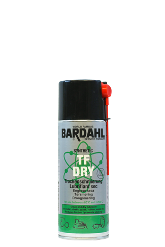 Bardahl TF Dry Droog smeermiddel met PTFE