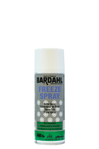 Bardahl Freeze Spray