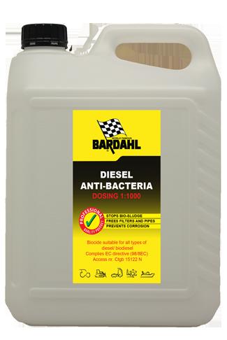 Bardahl Diesel Anti Bacterie - 10ltr biocide