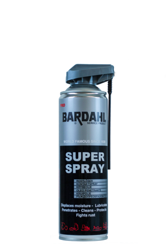 Bardahl Super Spray, 500ml universele kruipolie