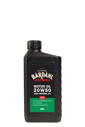 Classic Motor Oil Sae 20w50 Bardahl Bardahl