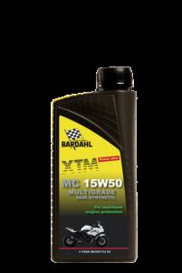 olie voor motorfietsen: Bardahl 15W50 semi synthetic