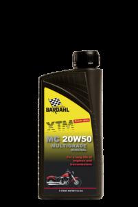 olie voor motorfietsen: 20W50 multigrade